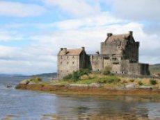Skotsko na kole - hrad