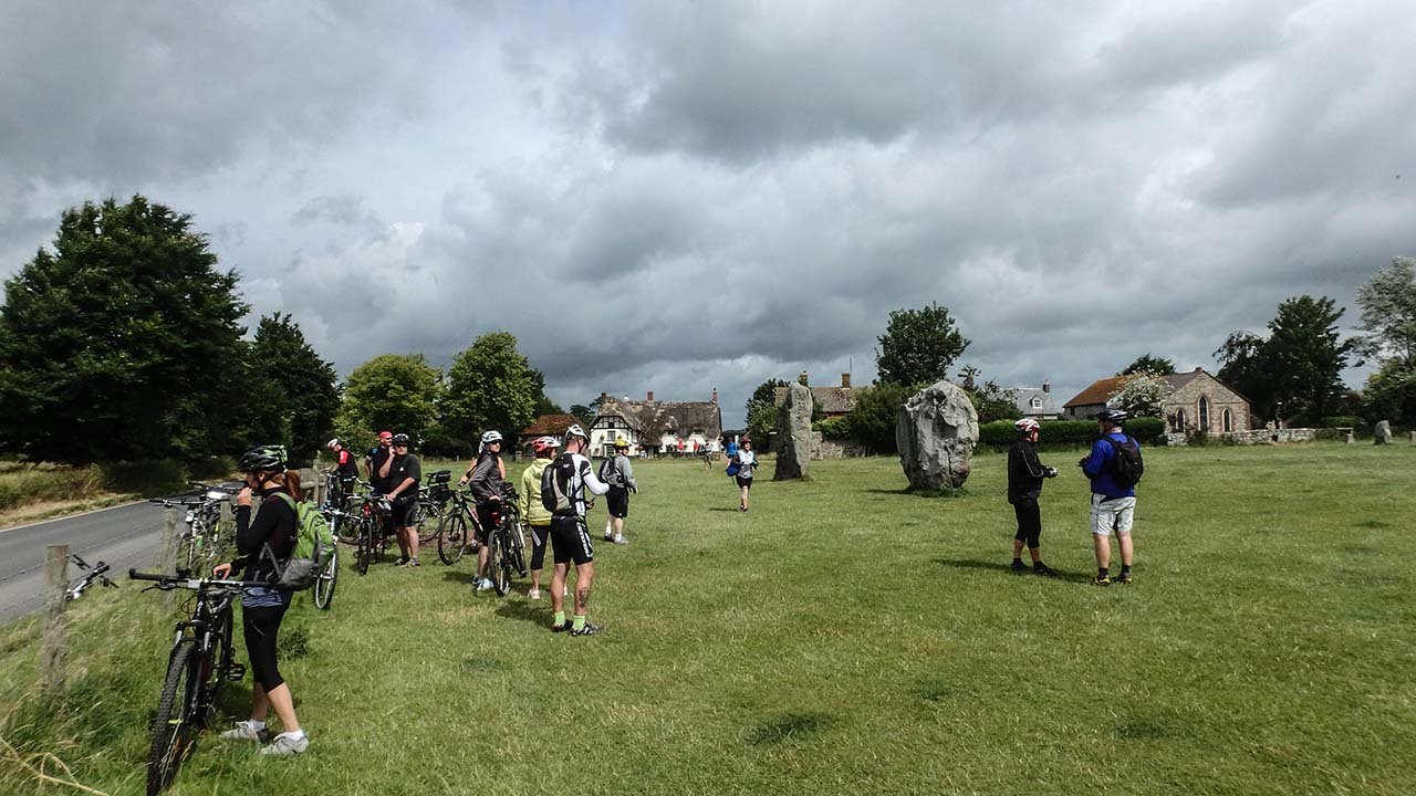 Avebury - Megalitický kruh
