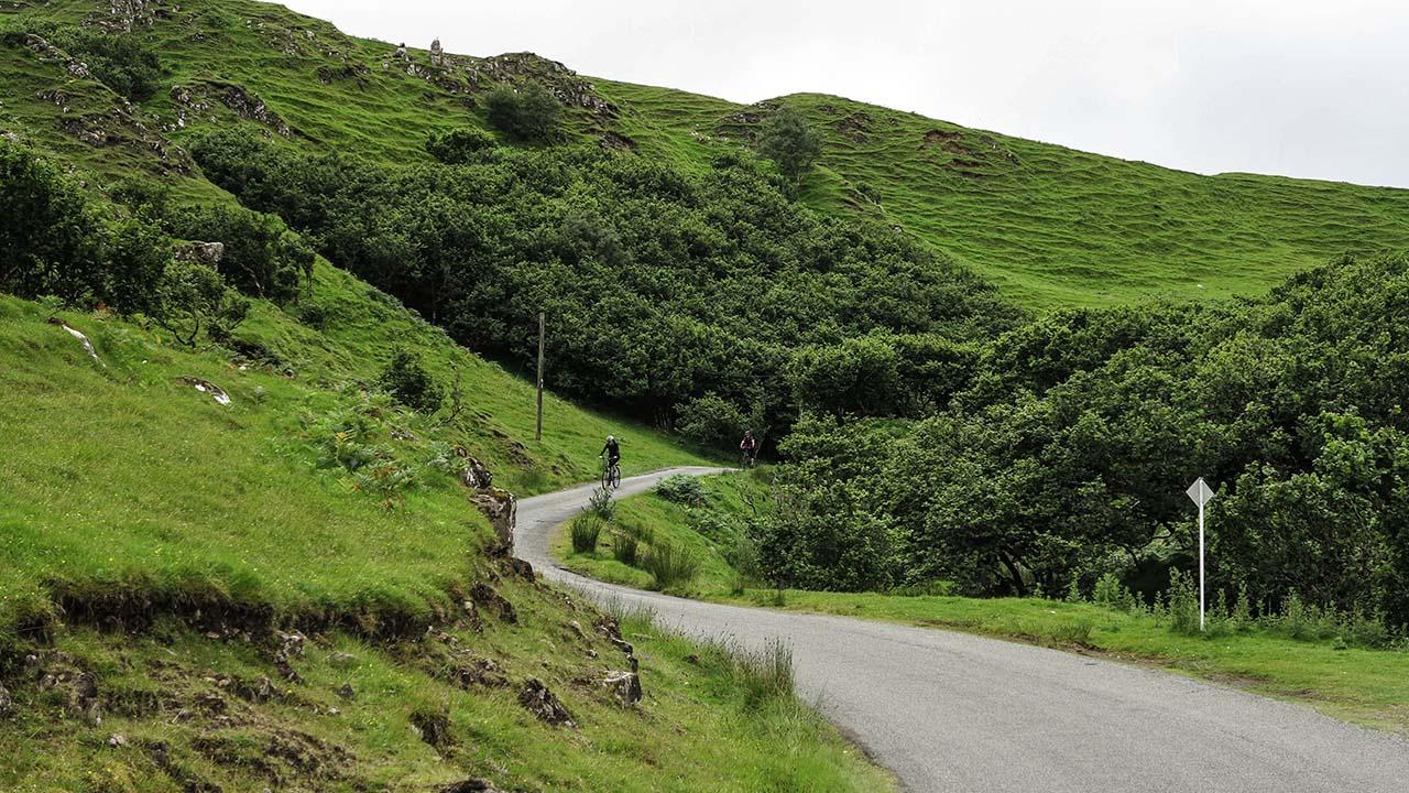 Skotsko na kole - Fearie Glen