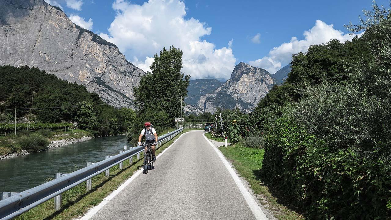 Jezero Garda na kole