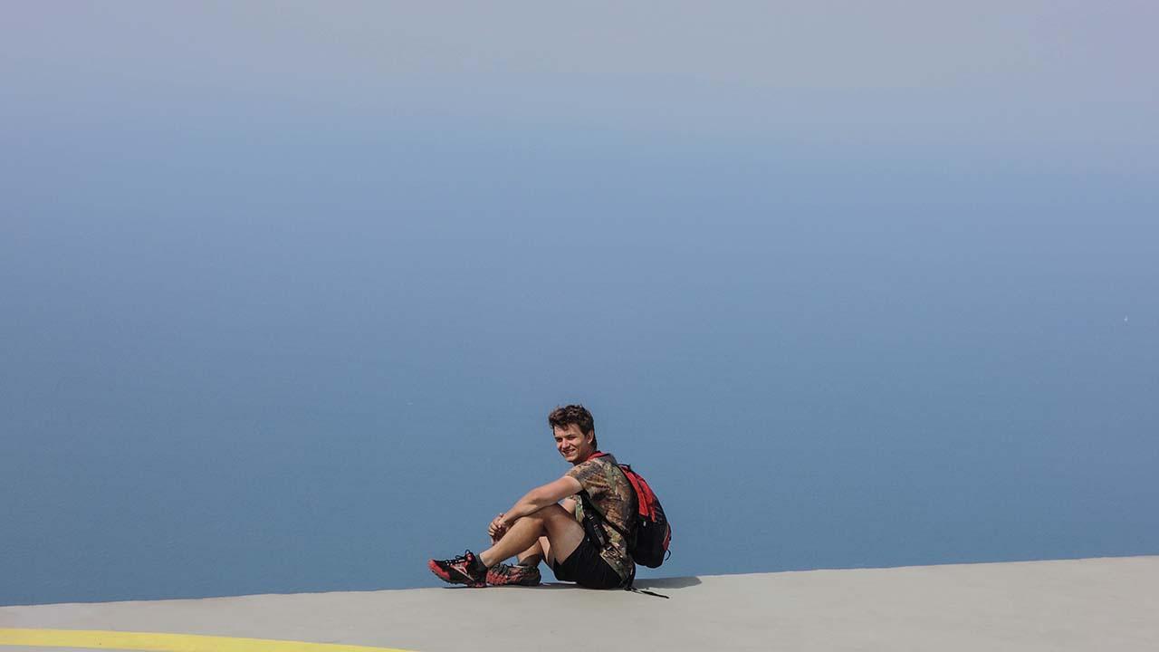 Monte Capanne - na vrcholu