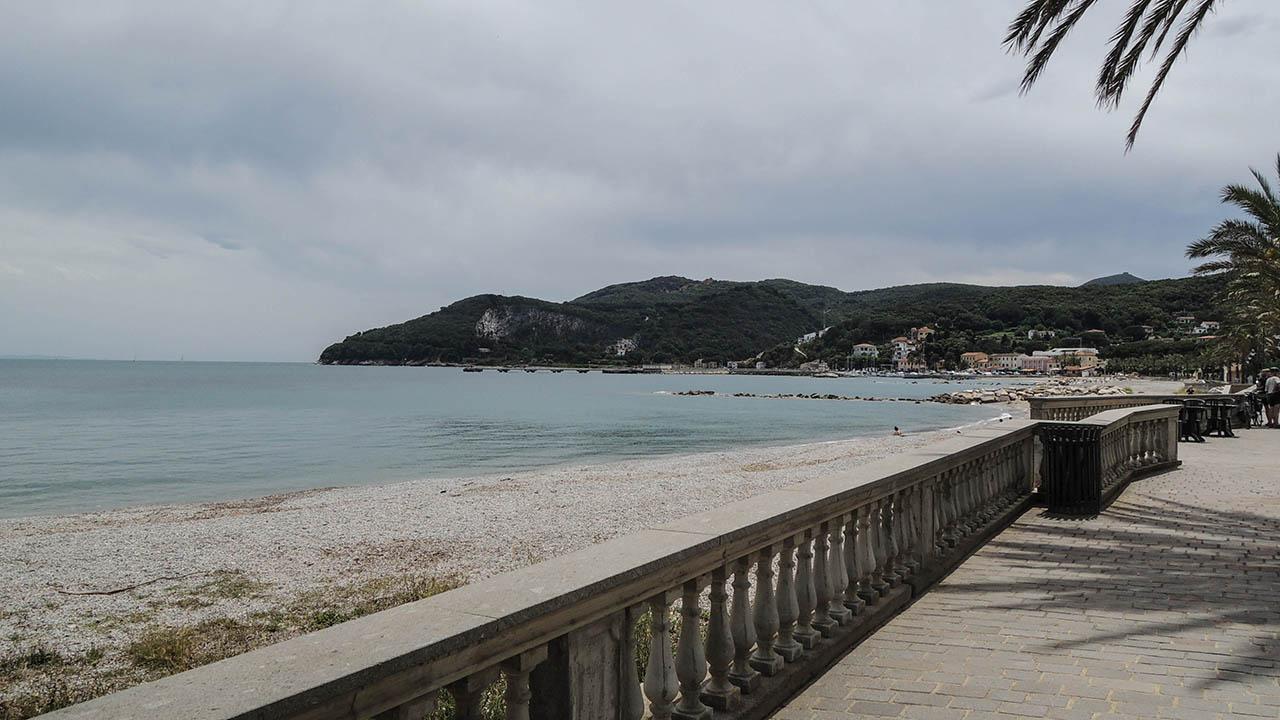 Elba - pláž