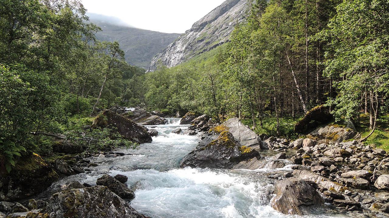 Řeka Sjoa