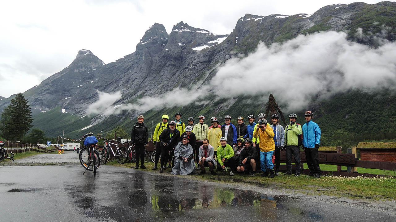 Norsko na kole - i za deště