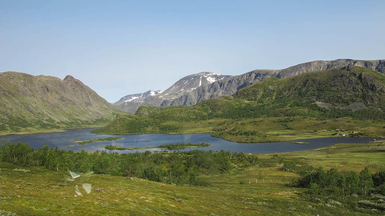 Norsko na kole - náhorní jezera