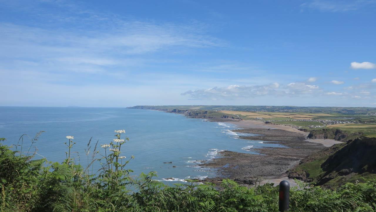 Cornwall - pobřeží