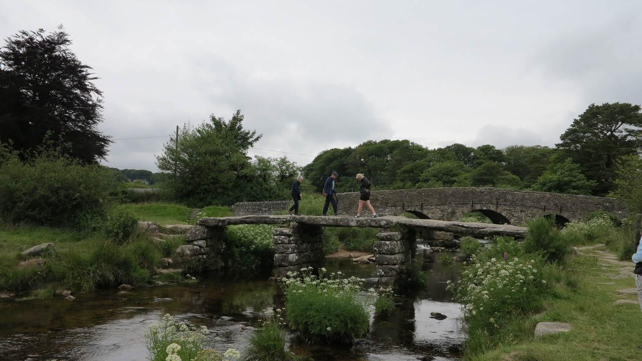 Středověký most v Dartmooru