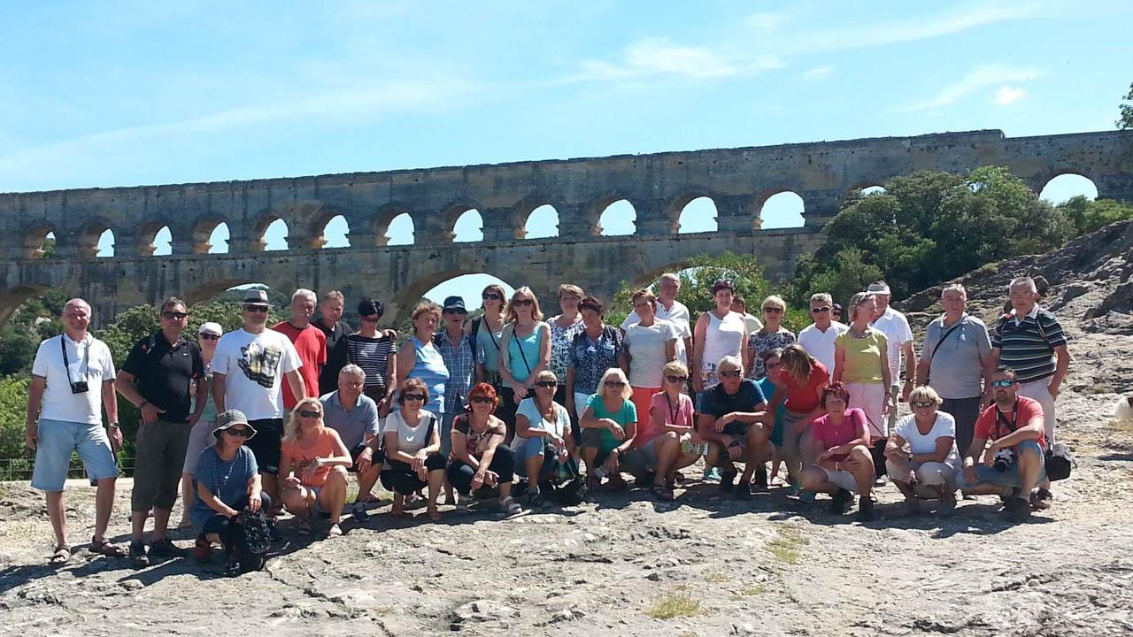 Společná u Pont du Gard