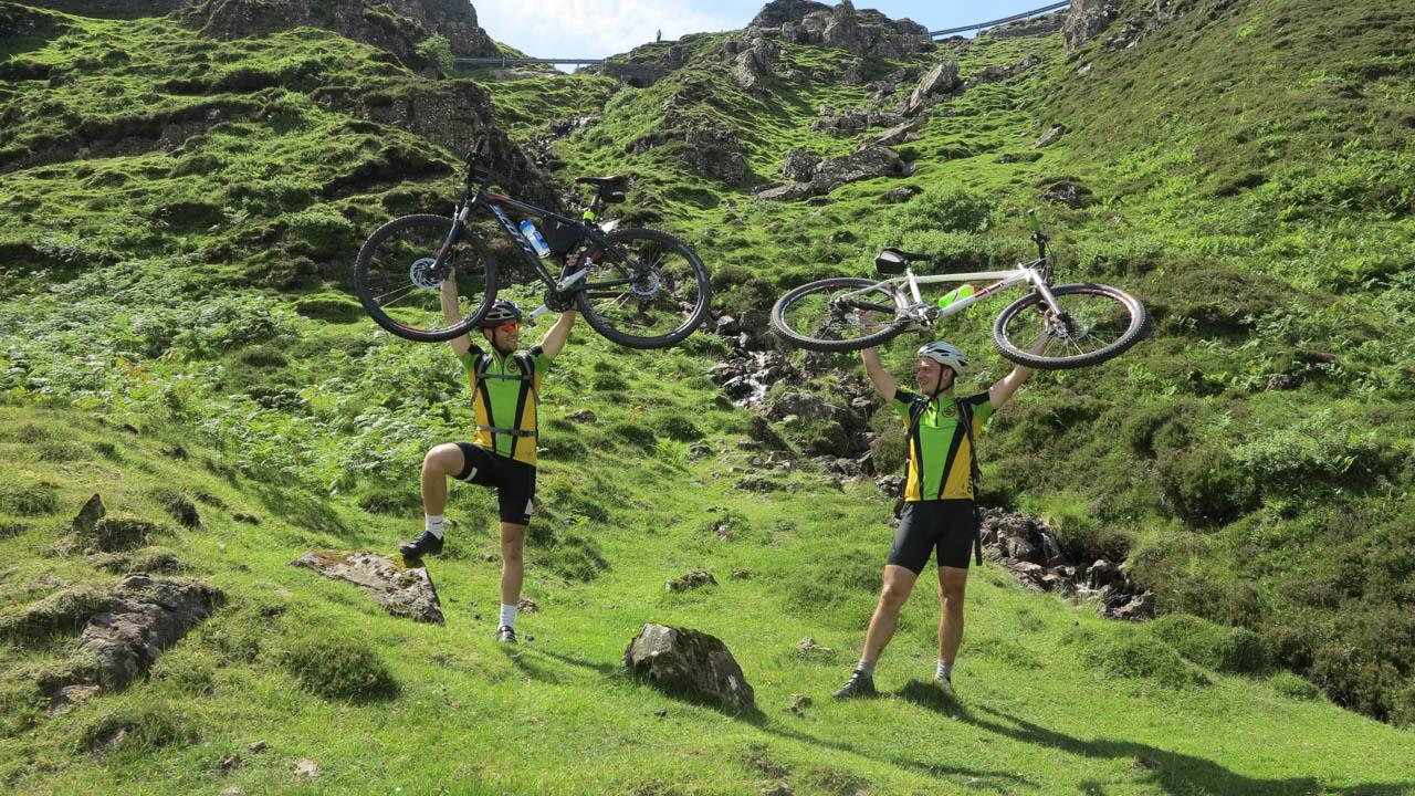 Cyklo na ostrově Skye