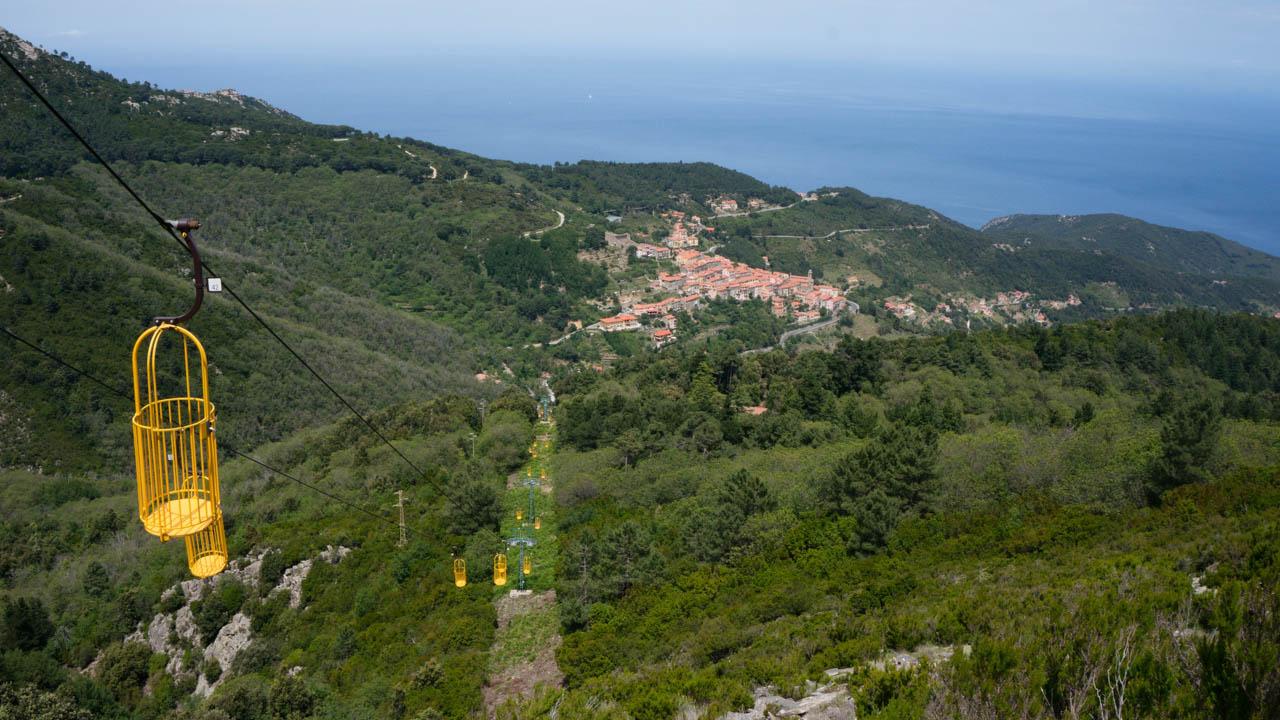 Lanovka na Monte Capanne