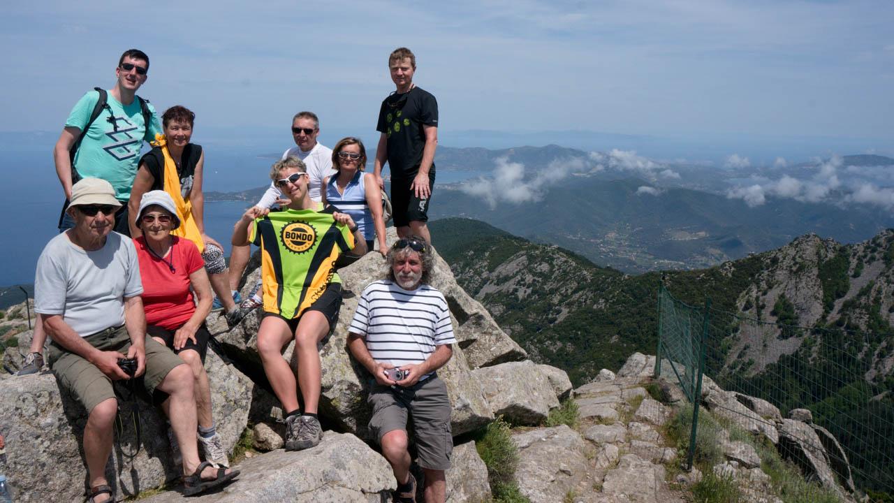 Na vrcholu Monte Capanne