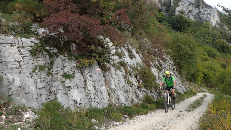 Lago di Garda na kole - výhled