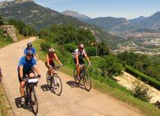 Lago di Garda na kole - cyklisti