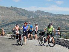 Porvence na kole - kaňon Verdon