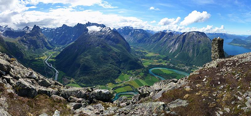 Norsko na kole - Nesaksla