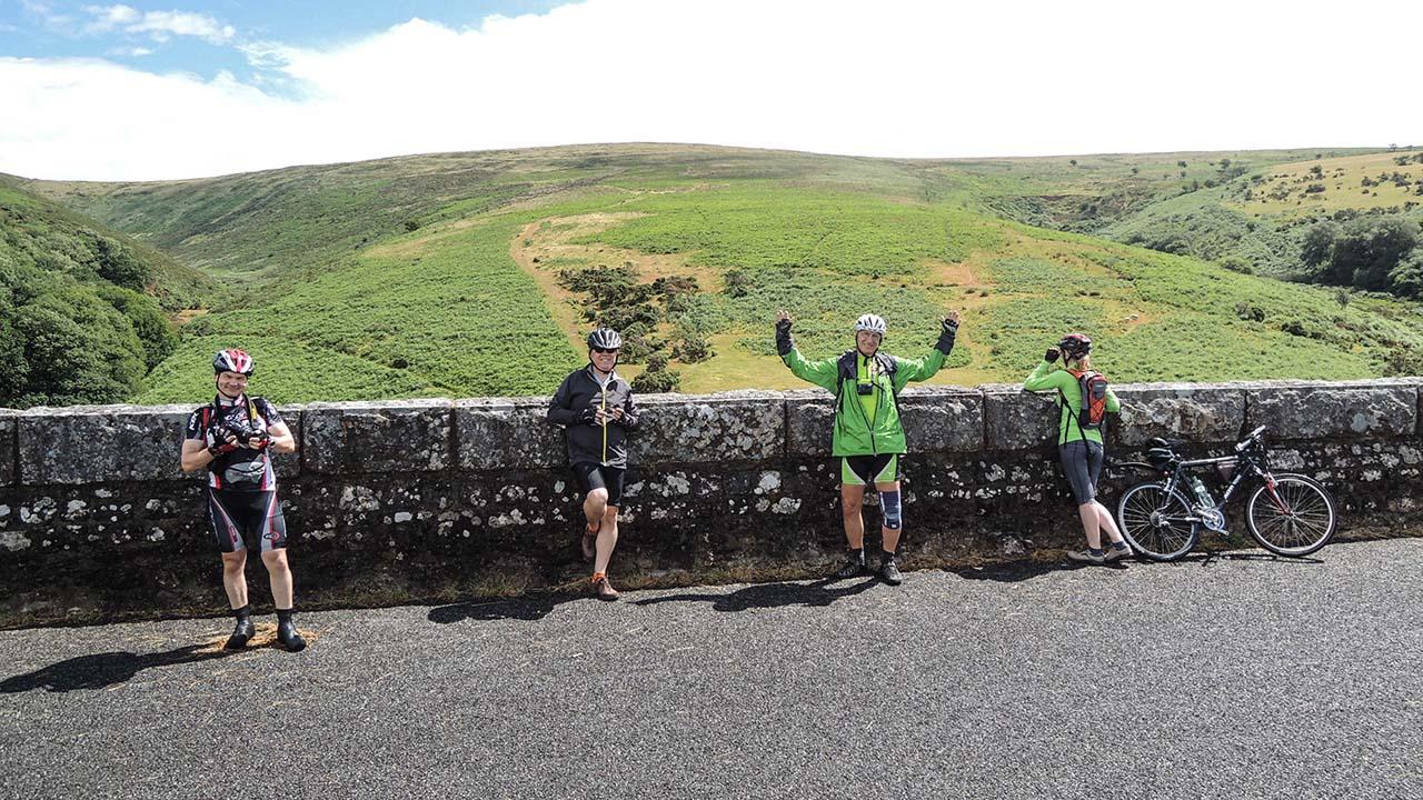 Cyklostezka po bývalé železnici - Dartmoor