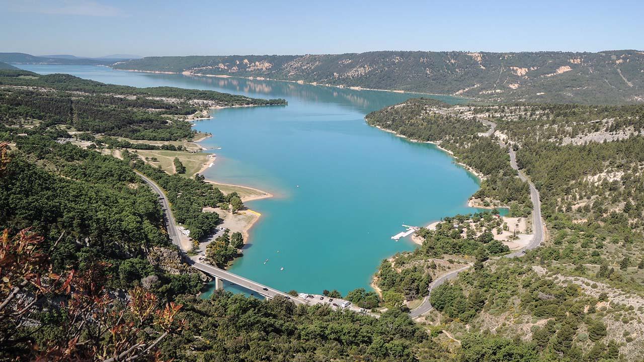 Jezero Lac de Saint Croix