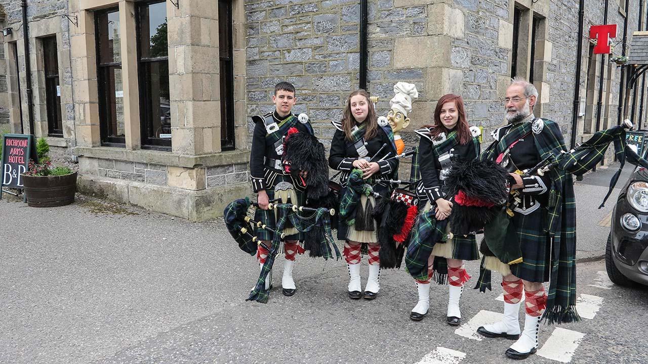 Dudáci na Highland Games