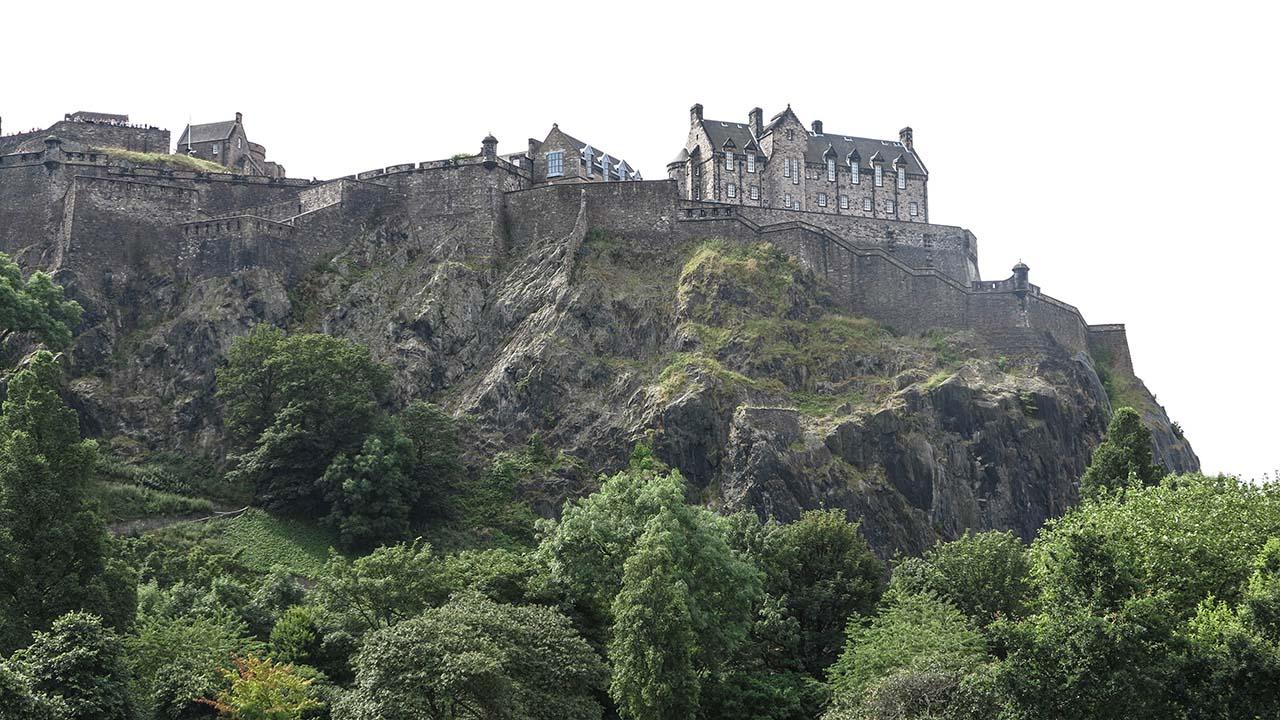 Edinburgh hrad