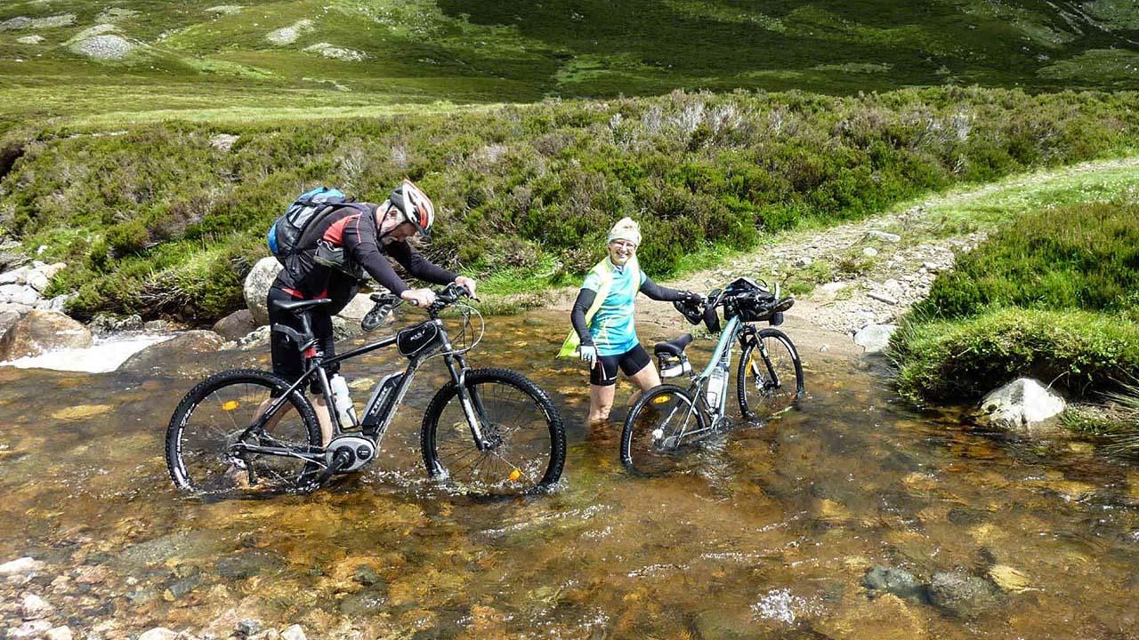 Skotsko na kole MTB