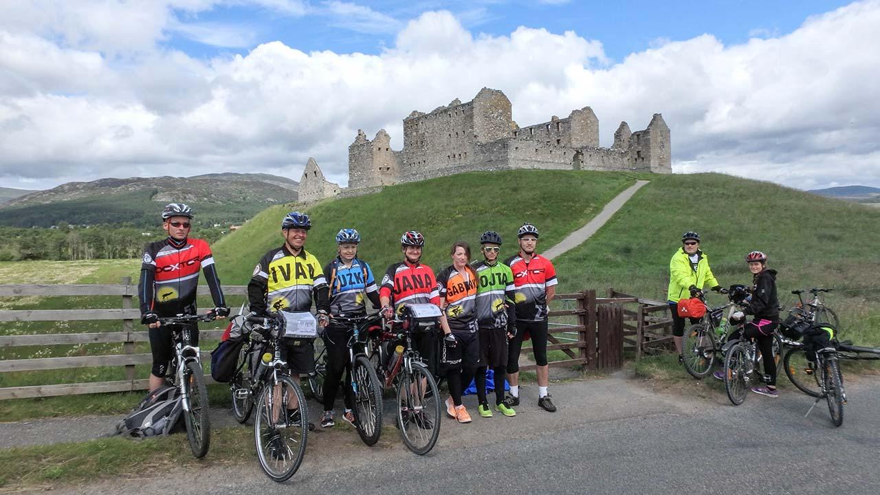 Skotsko na kole - pevnost
