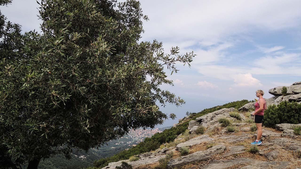 Výhled z Monte Perone