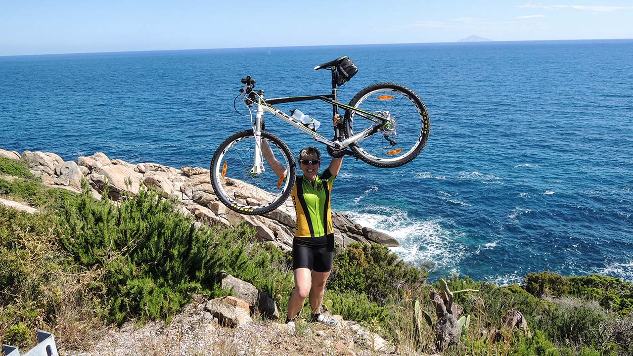 Oslava na pobřeží - Elba