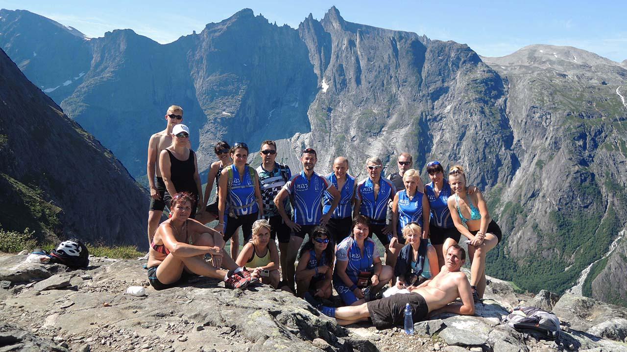 Vyhlídka Romsdalen
