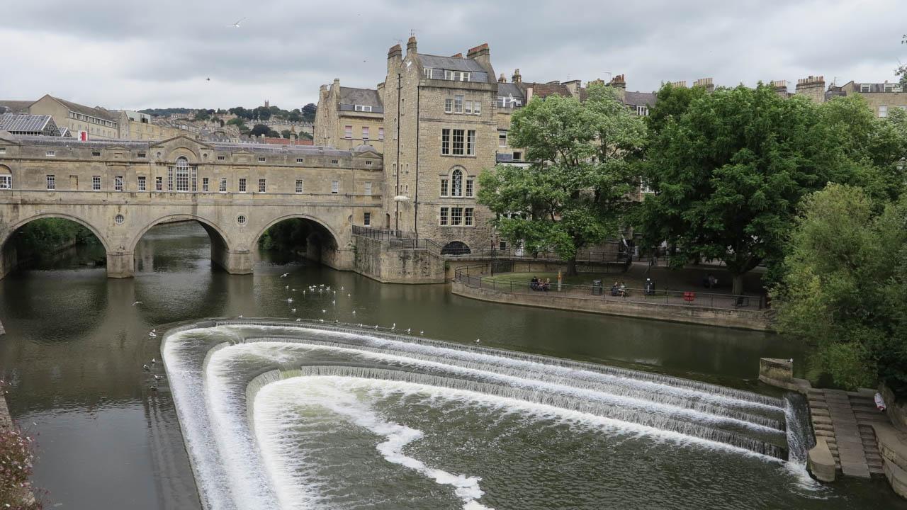 Bath - lázeňské město