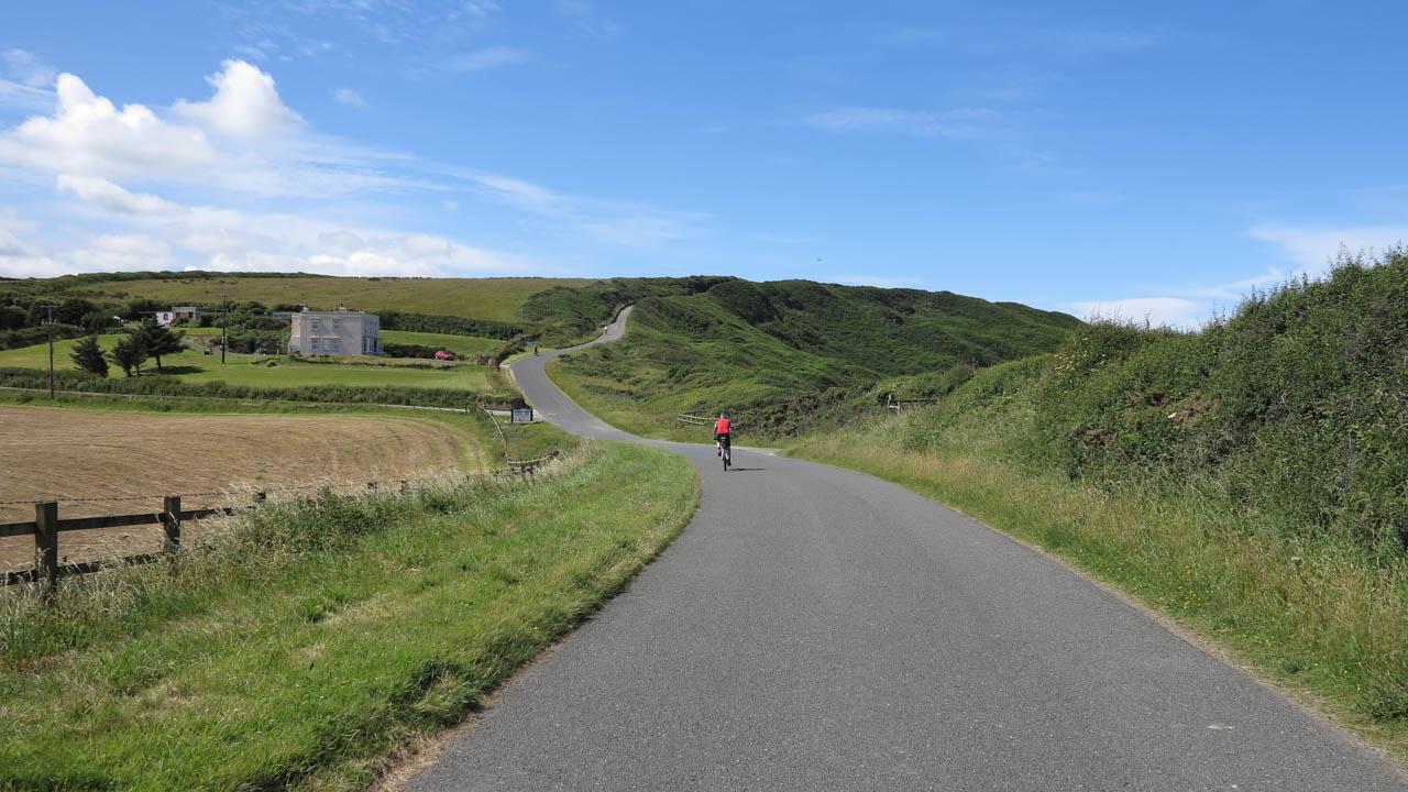 Anglie na kole - Cornwall - pobřeží