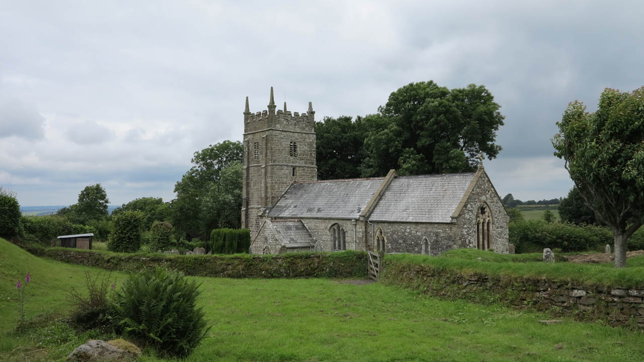 Kostel v Dartmooru