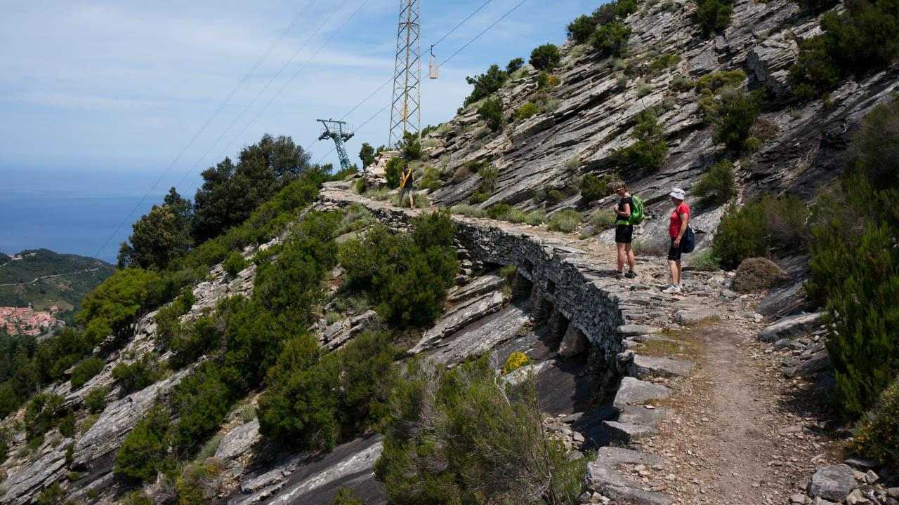 Výstup na Monte Capanne pod lanovkou
