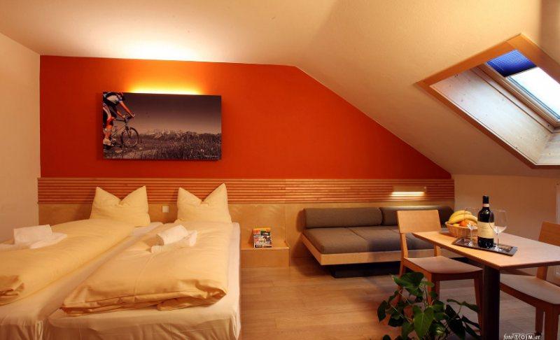 Pokoj v hotelu Rakousko Ennská cyklostezka