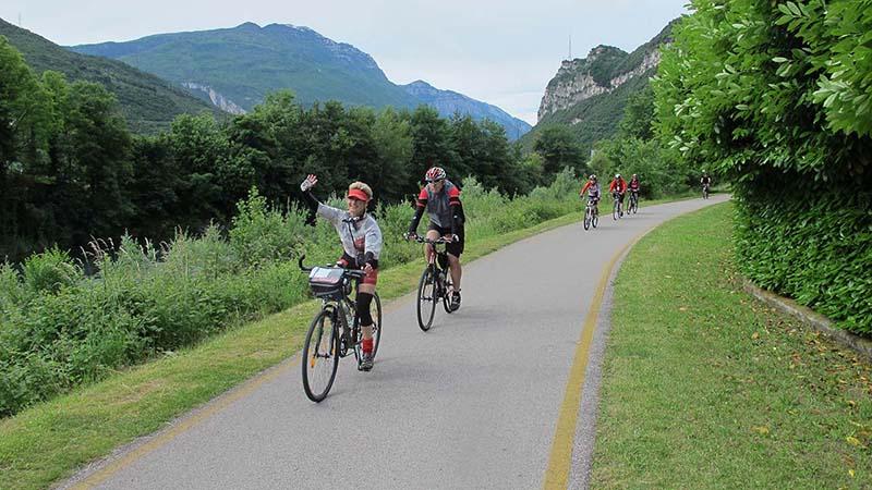 Cyklistika - Lago di Garda