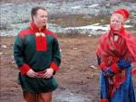 Laponci ve Finsku nebo-li Sámové