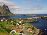 Pohled na Lofotské mosty