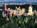 Pena Palace Sintra Porugalsko