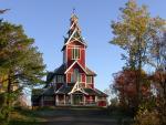 Kostel v Ballstadu na Lofotech