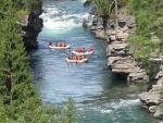 Rafting na řece Sjoa