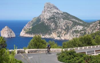 Mallorca na kole: Svěží vítr