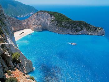 Řecko Zakynthos: Na kole za plážemi