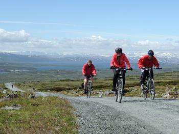Norsko na kole: fjordy, hory, řeky
