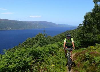 Skotsko: Vysočinou na horském kole MTB