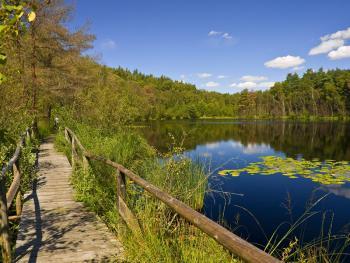 Meklenburská jezera na kole